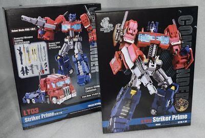 New Transformers Lgendary Toys LT-03 Striker Prime Optimus Prime In Stock