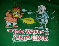 Heat & Snow Miser The Year Without A Santa Claus Funny Christmas T-shirt