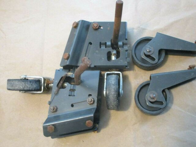 4 Step Up Retractable Swivel Casters For Craftsman 113 Xxxxx Series Table Saw For Sale Online Ebay