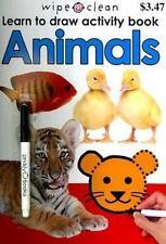 Wipe Clean Activity Book Animals (Wipe Clean Activity Books)