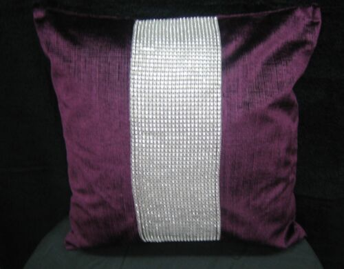 NEW PARTY OCCASIONS TABLE CLOTH OR CUSHION COVERS PLAIN DIAMANTE STUDDED BLING