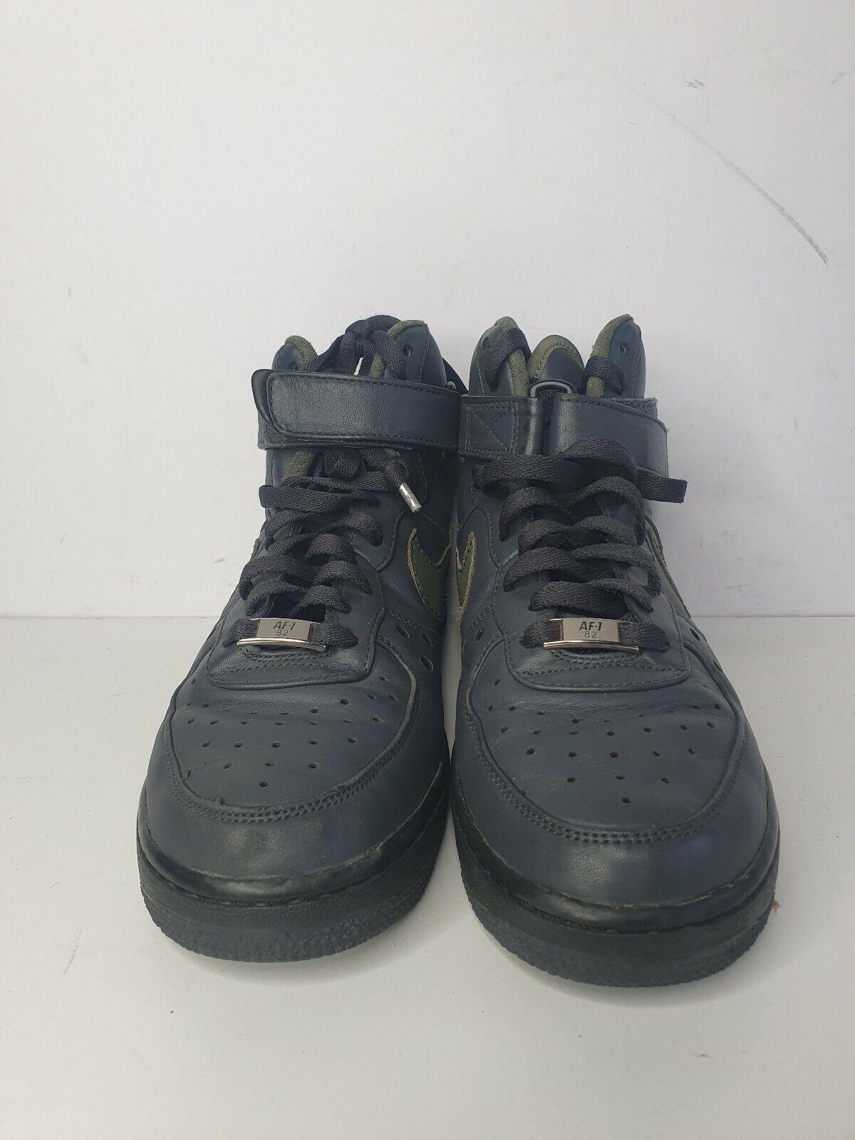 Nike Air Force 1 High Top Charles Barkley Pack 317312-031 grau Größe uk6 eu40(17