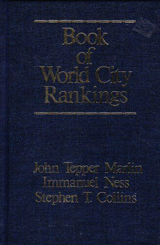 Book of World City Rankings
