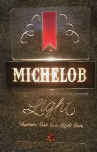 Vintage-MICKELOB-Beer-Lighted-Bar-Sign-Tested