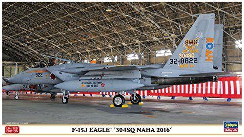 Hasegawa 1 72 F-15J Eagle 304SQ Naha 2016 Model Kit NEW from Japan