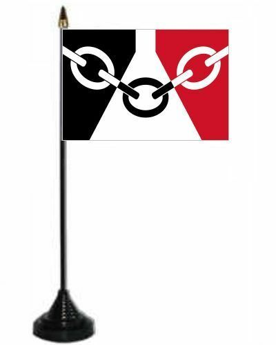 Black Country County Desk Table Top Flag