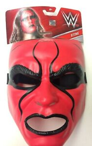 WWE-STING-Skull-Mask-Brand-New-Mattel-NEW-with-packaging-and-tag
