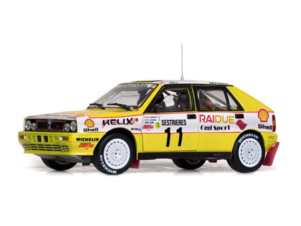 Sunstar 3129 lancia delta integrale voiture modèle cerrato Vasino monte carlo 89 1 18
