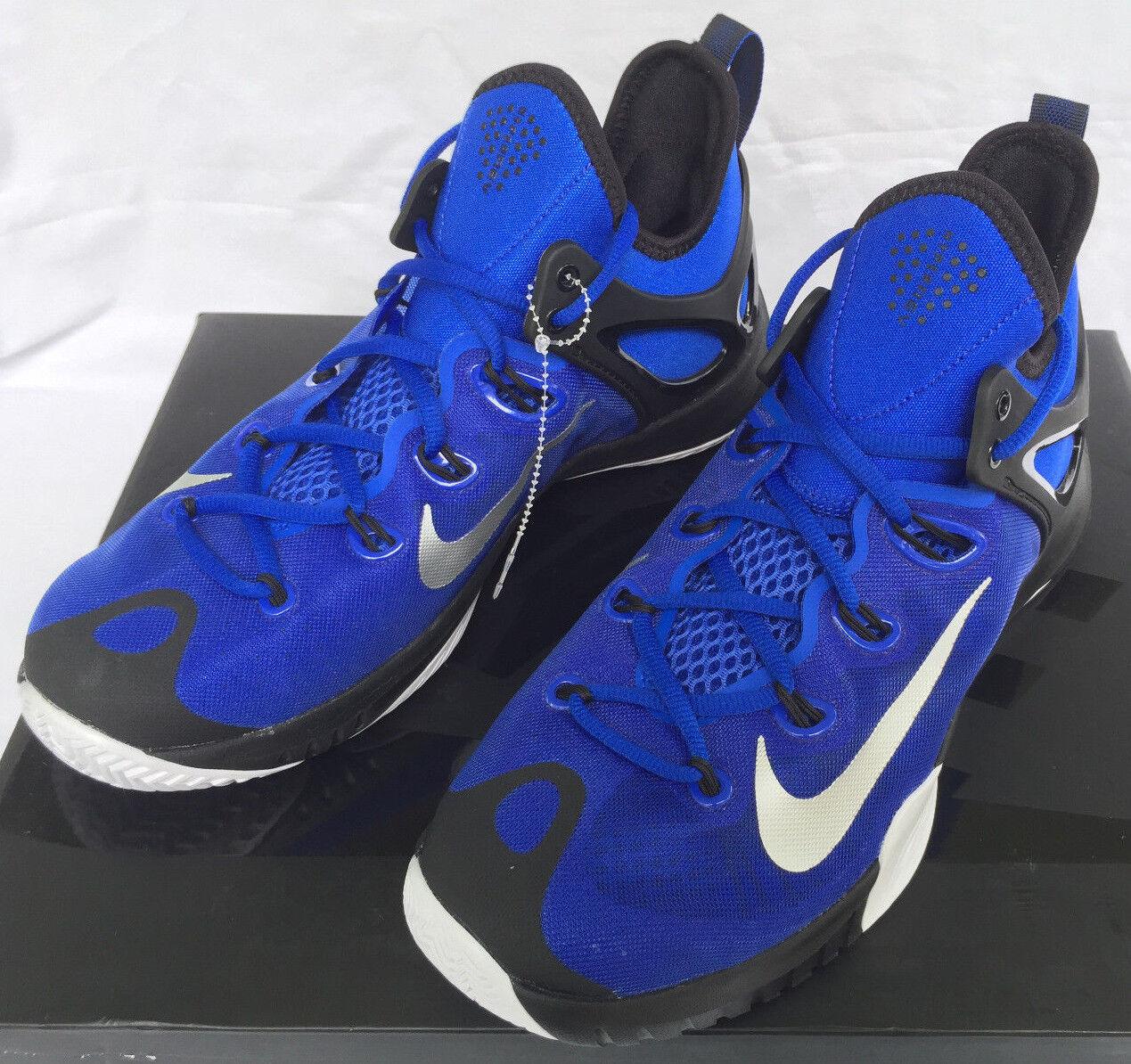 Nike Zoom HyperRev 2018 Lyon Bleu 705370-400 Noir Basketball Chaussures Hommes 8.5 new