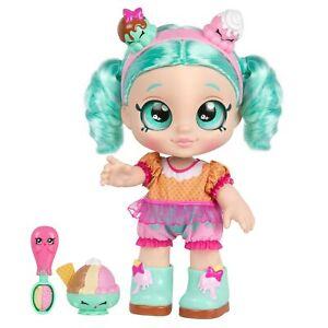Kindi Kids Snack Time Friends Peppa-Mint 10 inch Doll