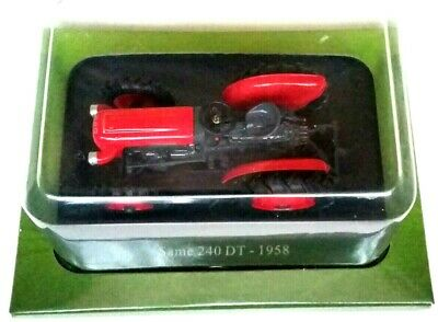 HACHETTE UNIVERSAL HOBBIES 1//43 CLASSIC SAME 240 DT 1958 MODEL TRACTOR