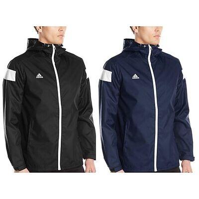 adidas Mens CLIMAPROOF Shockwave Full Zip Jacket Hooded Windbreaker
