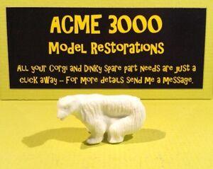 Corgi 1123 Chipperfields Circus Reproduction Repro Plastique Standing Polar Bear-afficher Le Titre D'origine