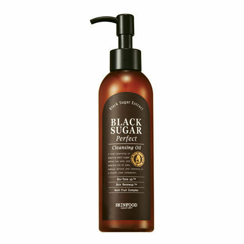 SKINFOOD Black Sugar Perfect Cleansing Oil 200mL / Made in Korea