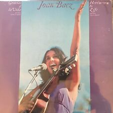 Gracias a la vida-Here 's to Life (1974) - Joan Baez-vinyl LP