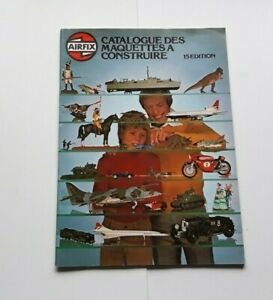 AIRFIX-CATALOGUE-MAQUETTE-A-CONSTRUIRE-EDITION-15-1978