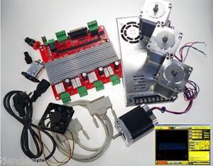 CNC-Kit-Electronica-de-4-Ejes-driver-Controller-card-Fresadora-Router