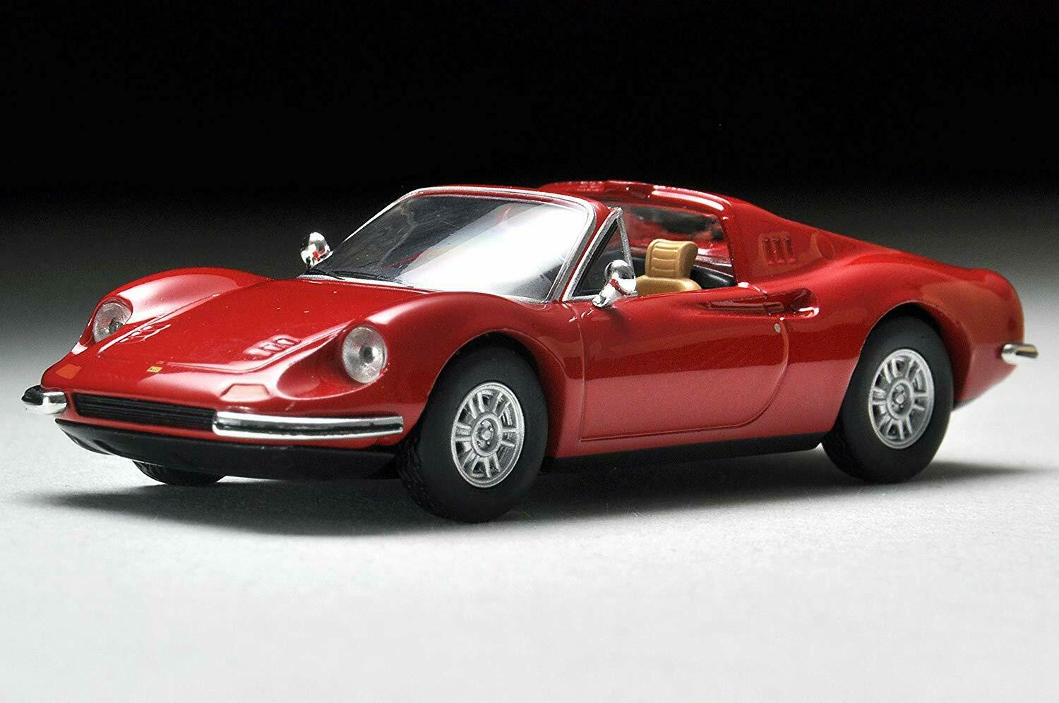 1:64 Tomytec Tomica Limited Vintage Neo Ferrari Dino 246GT Type M Red TLV-N LE