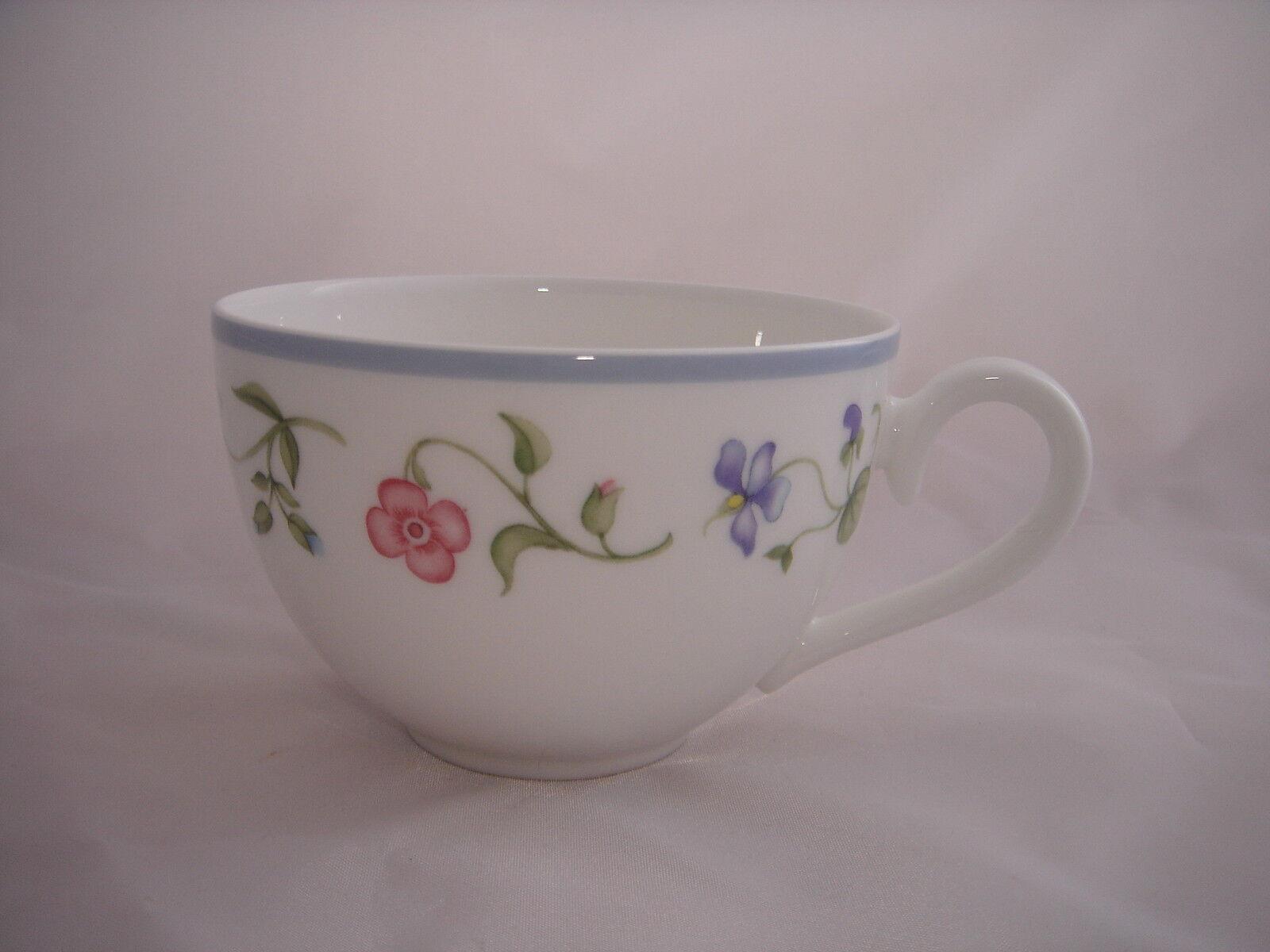 VILLEROY & BOCH v&b fleurie 3 café tasse de café tasses tasse tasses nouveau H 6 Top