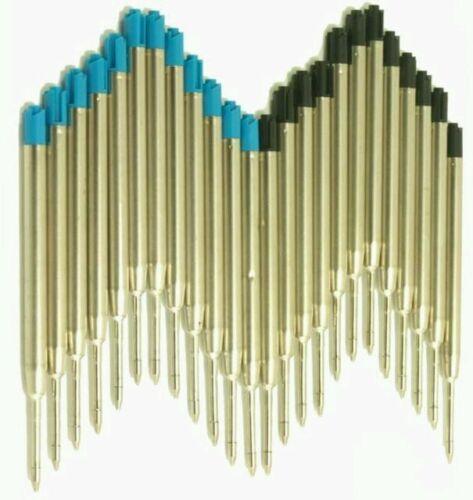 Parker Style Medium Refills 12 6 Blue 6 Black