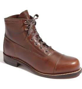 d1bc5cf8f72 Details about Wolverine Boots 1000 Miles Original Cap Toe Rockford W05293  MADE IN USA