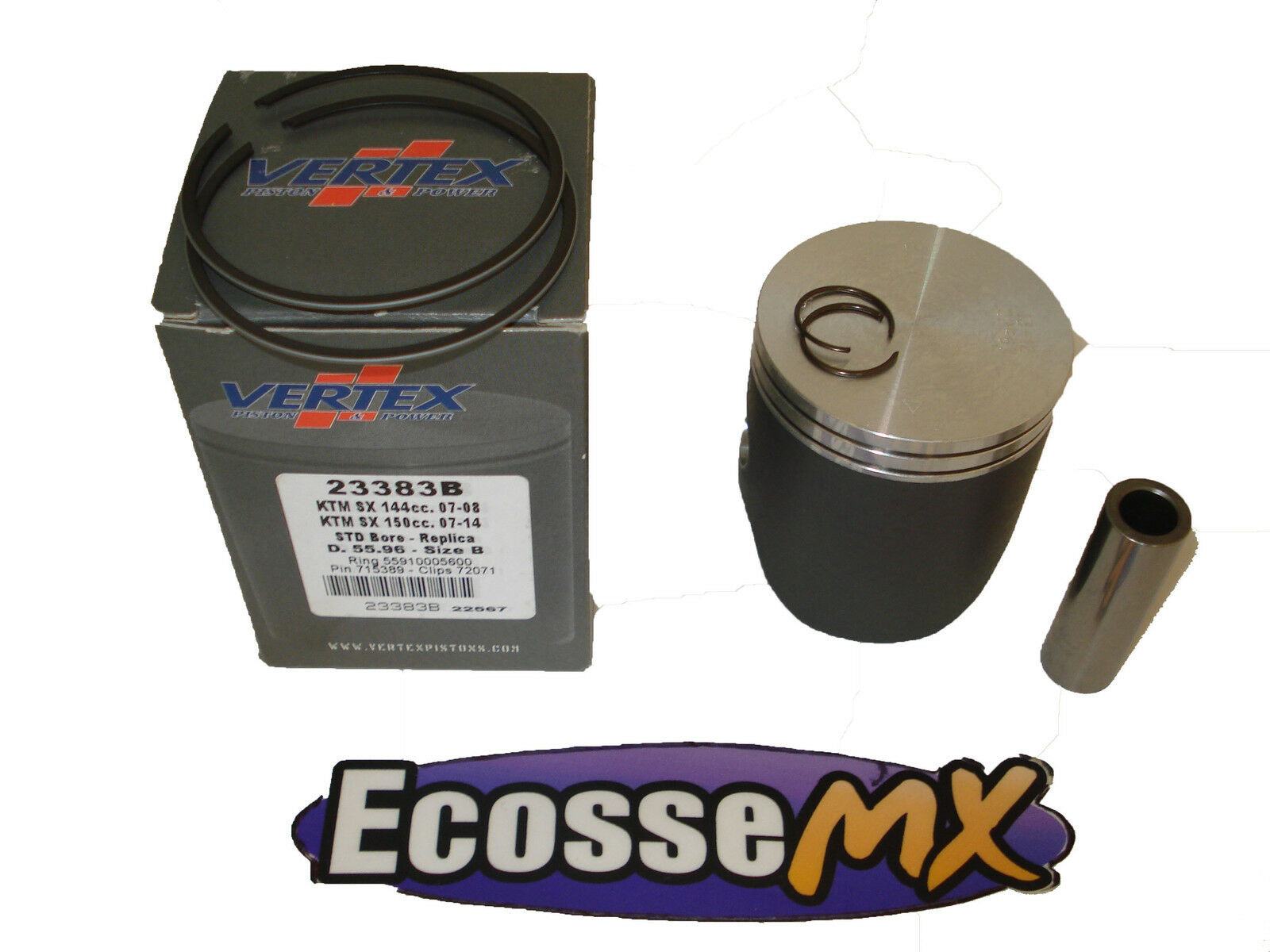 Wössner Kolben für KTM EXC SX 200 ccm 1998-2016 Ø63,95 mm