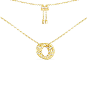APM Monaco Small Necklace//Collier MANA Intertwined Hoop AC4999OXY