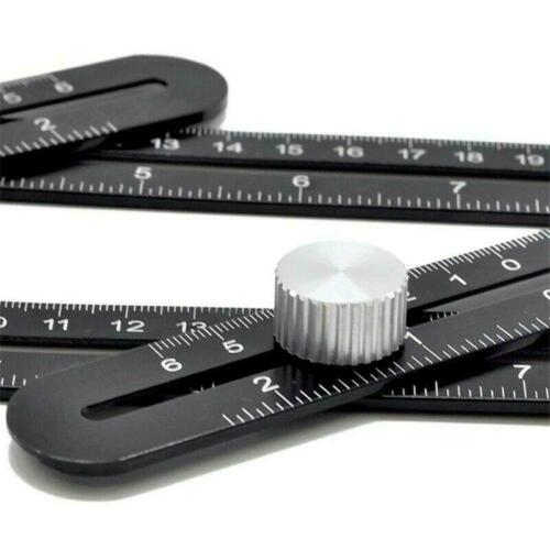 Details about  /Angle Ruler Measure Tool Multi Measuring Drill Builders Craftsmen Carpenters
