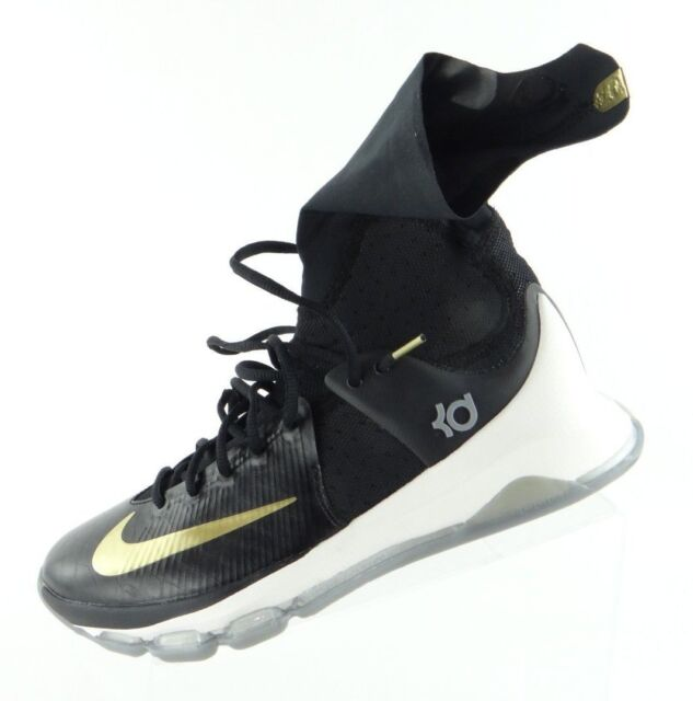 san francisco 5ded6 81563 ... new style nike kd 8 elite away edition basketball shoes black gold  834185 071 7b78f f4953