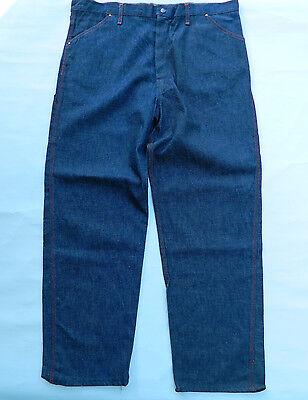 1970's Sconosciuto Brand Denim Engineer Jeans / Misura: W 40 X L 32 / Deadstock