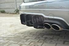 Mercedes W204 C63 Enfoque De Popa Trasero Difusor Spoiler Parachoques Trasero