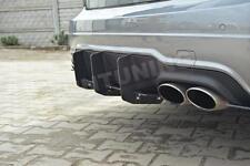Mercedes W204 C63 Heckansatz Heck Diffusor Heckschürze Stoßstange AMG C Klasse