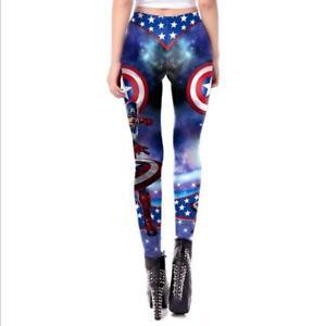 Fashion legging Cartoon Cosplay printed legging S-XL elastic legging