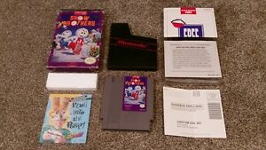 Snow-Brothers-Bros-Nintendo-NES-Capcom-Cartridge-lot-Game-Box-Inserts-TESTED