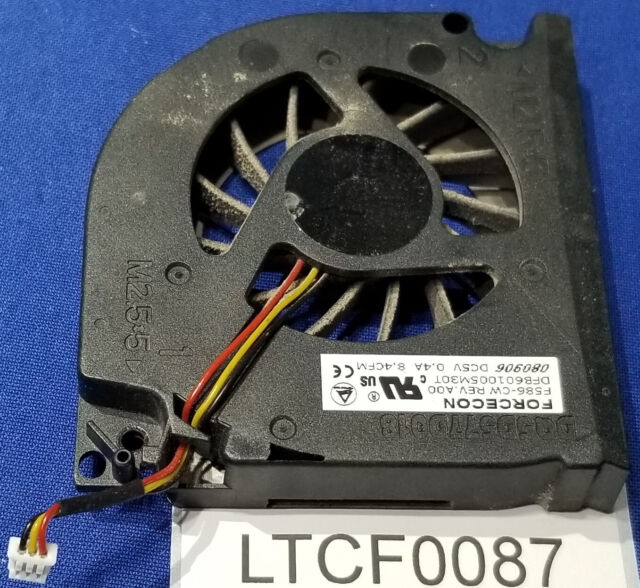 Dell inspiron 1501 6000 6400 9100 9300 E1505 CPU Fan DQ5D577D018 F586-CW