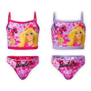 Girls-Disney-Barbie-Swimsuit-Kids-Children-Swimming-Costume-Bikini-Size-2y-6y