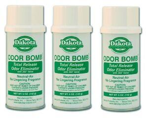 Car Odor Eliminator >> Details About Dakota Odor Bomb Car Odor Eliminator Neutral Air 5 Oz X 3 Pack Dak 48 Na