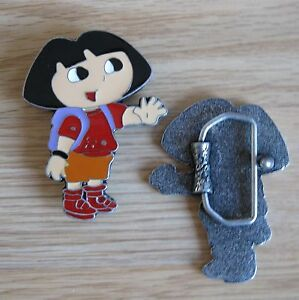 Dora-cartoon-belt-buckle