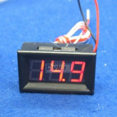 "0.56"" led Digital -200 to 450℃ PT100 Resister Temperature temp Sensor 12v car R"