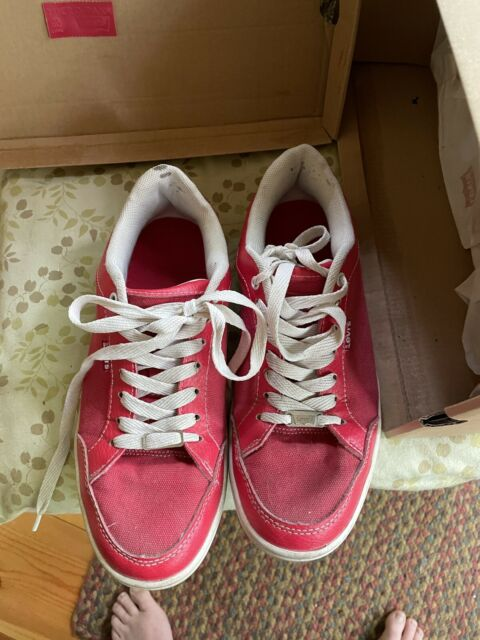 vintage levis red tennis shoes nice have offical boxs 8 1/2 Cool Shoes