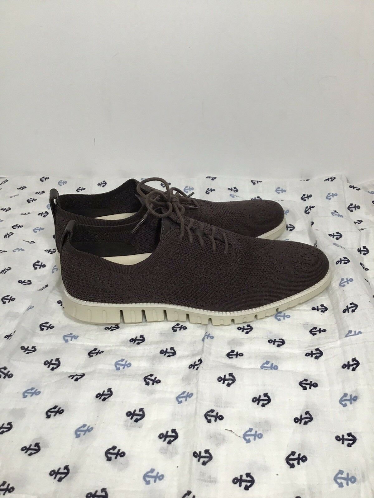 Cole Haan Zerogrand Stitchlite Oxford Brown Casual Men 11