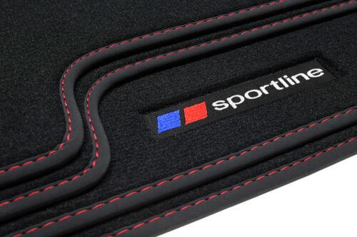 2012 Sportline Tapis De Sol Pour BMW 1er f21 Bj