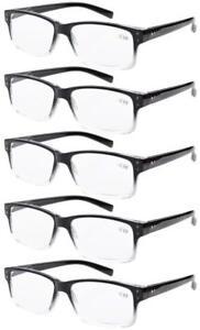 fc4bb98ccb0b 5-pack Spring Hinges Vintage Reading Glasses Or Sun Readers Men   eBay