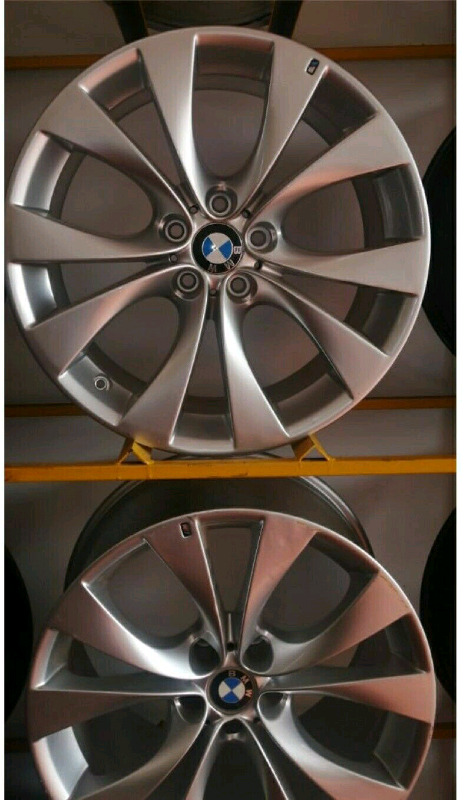 X5 and X6 BMW OEM  20 Inches  narrow and wide Rims