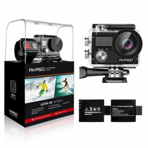 Akaso Brave 4 Sports Action Camera WIFI Ultra HD 4K 20MP Video DV DVR Camcorder