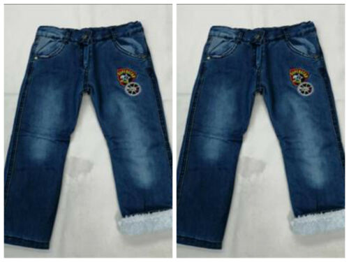 Thermojeans Kleinkind Baby Jungs Thermo Jeans Freizeit Hose Jeanshose Hose