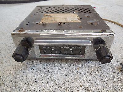 Responsabile Vintage Motorola Am Radio Tieniti In Forma Per Tutto Il Tempo