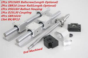 1Pcs-SFU-RM1605-300-1500mm-Ballscrew-amp-2pcs-SBR16-Linear-Rail-Kit-For-CNC