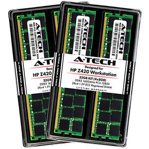 32GB-4-x-8GB-DDR3-PC3-12800R-ECC-RDIMM-Registered-Server-Memory-RAM-for-HP-Z420