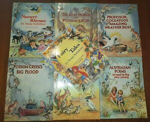 Details About 7 Australian Kids Story Books Possum Creek Nursery Rhymes Fairy Tales More
